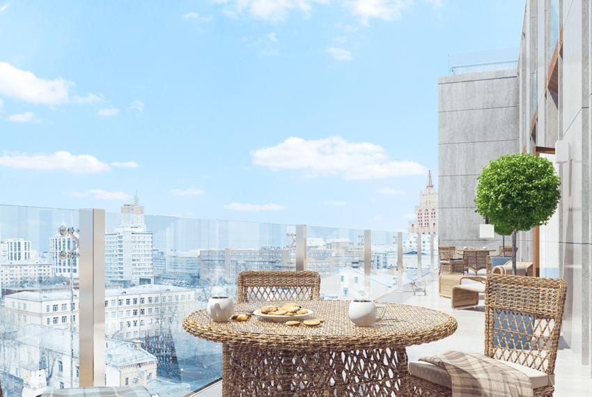 Комплекс апартаментов «Клубный дом на Сретенке»