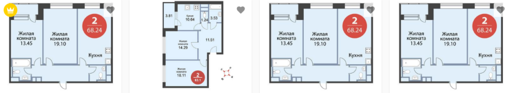Квартиры ЖК Лайф Митинская ЭкоПарк