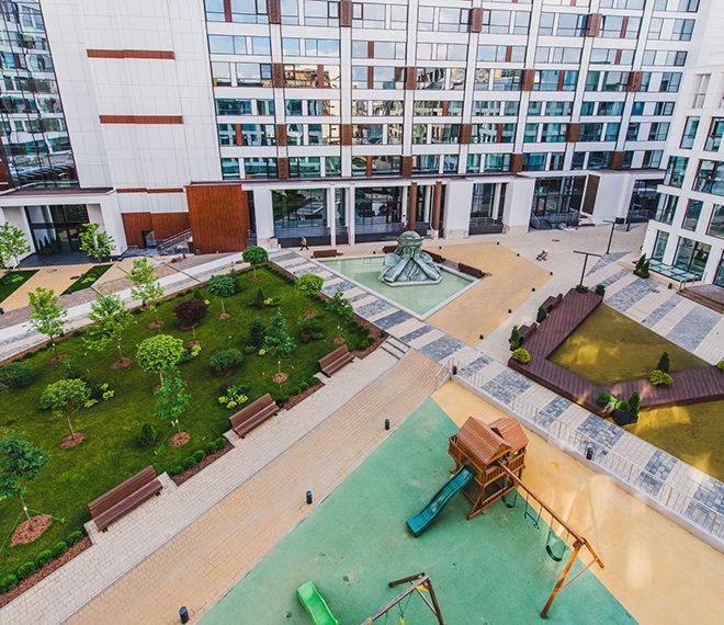 Tribeca Apartments - внутреннее обустройство комплекса.