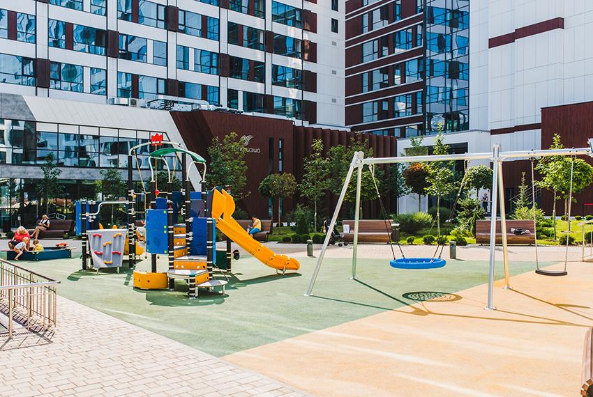Tribeca Apartments - детская площадка.