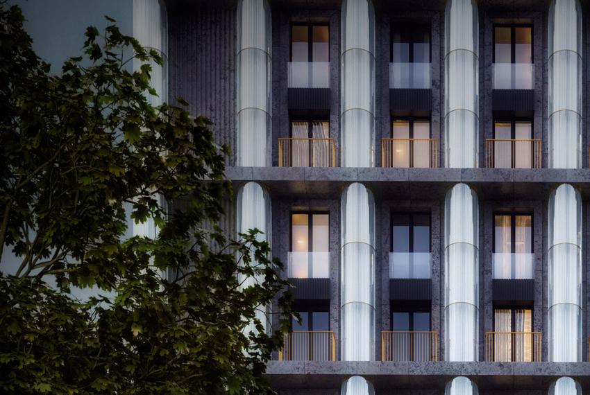 Kutuzovskiy-XII - балконы.
