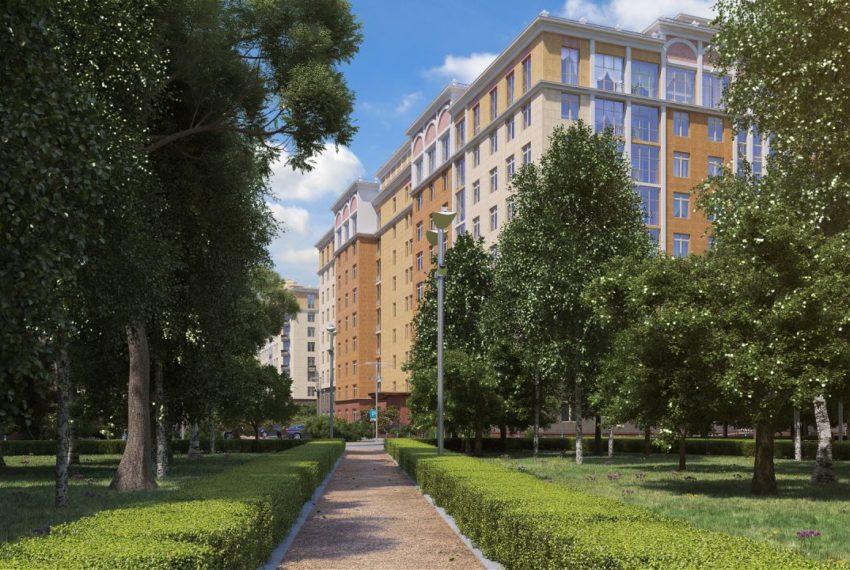 zhk rasskazovo - alleya v parke (foto 1)
