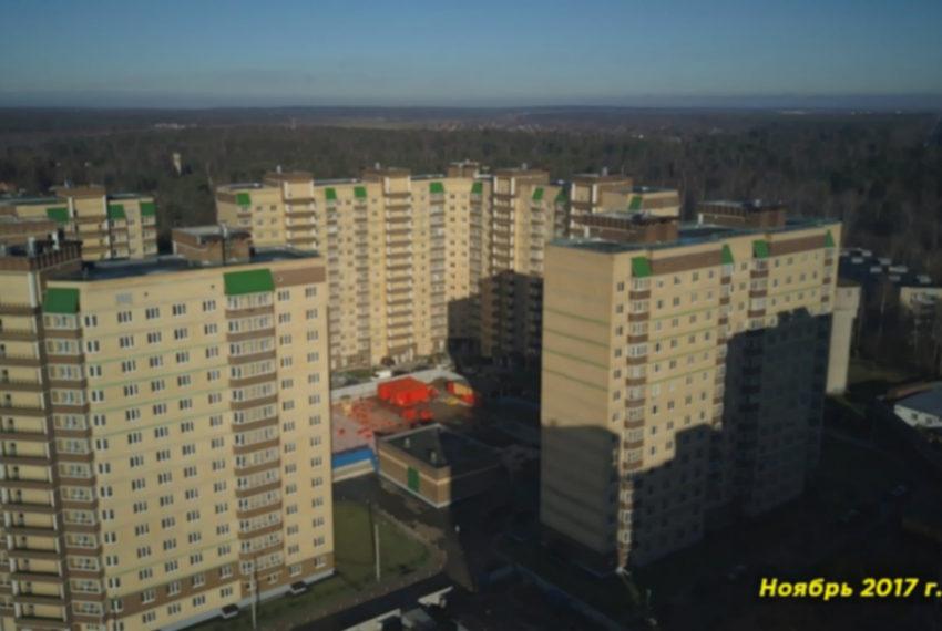 zhk-zelenyj-gorod - khod stroitelstva na tekutschiy moment (foto 1)